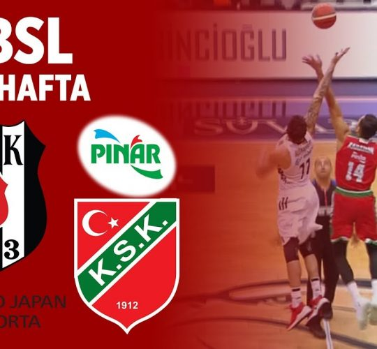 Beşiktaş SJ – Pınar Karşıyaka (BSL 2. Hafta)