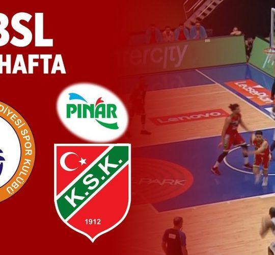 İstanbul Büyükşehir – Pınar Karşıyaka (BSL 3. Hafta)