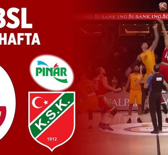 Galatasaray – Pınar Karşıyaka (BSL 5. Hafta)