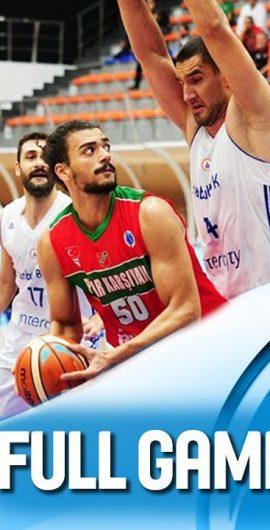 İstanbul Büyükşehir – Pınar Karşıyaka (Fiba Europe Cup 3. Hafta)